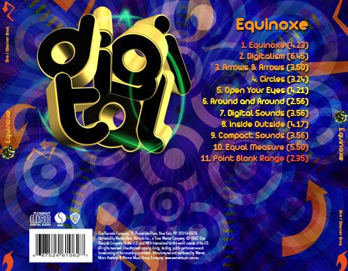Digital Back CD Cover