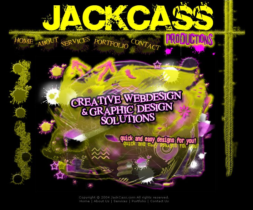 JackCass Website