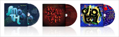 CD's designed by Jacob Cass