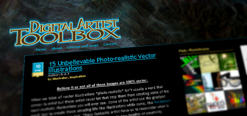 Digital Artist Toolbox | New Design Blogs