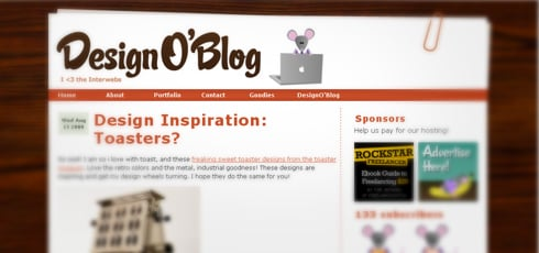 Design'o'Blog | New Design Blogs