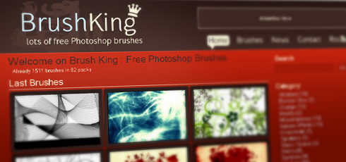 Brush King | New Design Blogs