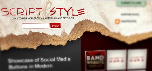 Script & Style | New Design Blogs