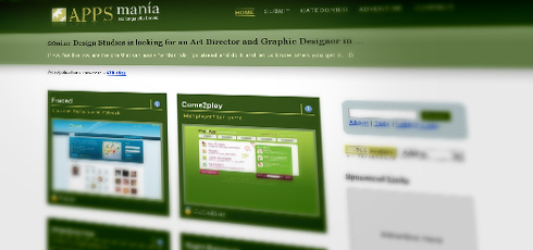 Apps Mania | New Design Blogs