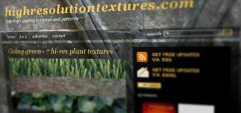 High Resolution Textures | New Design Blogs