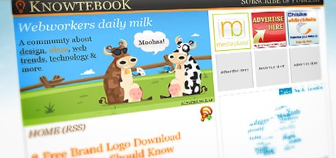 Knowtebook | New Design Blogs