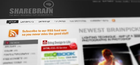 Sharebrain | New Design Blogs