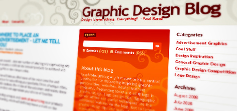 Graphic Design Blog | New Design Blogs