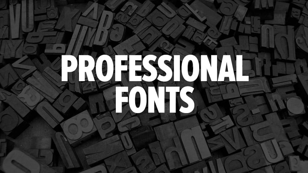 Top 7 Fonts Used By Professionals In Graphic Design Just Creative