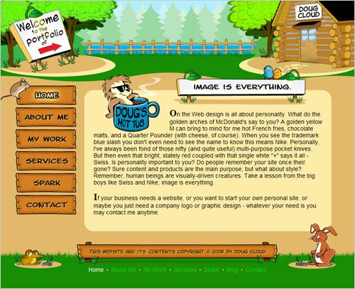 Doug Cloud Website