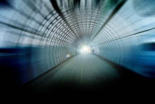 Light an end of tunnel - Photo by Gustavo Minas