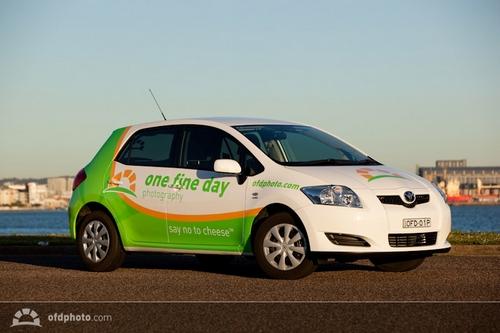 Car Vehicle Wrap Design