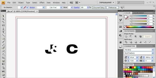 Position Ampersand