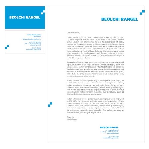 Beolchi Rangel Letterhead