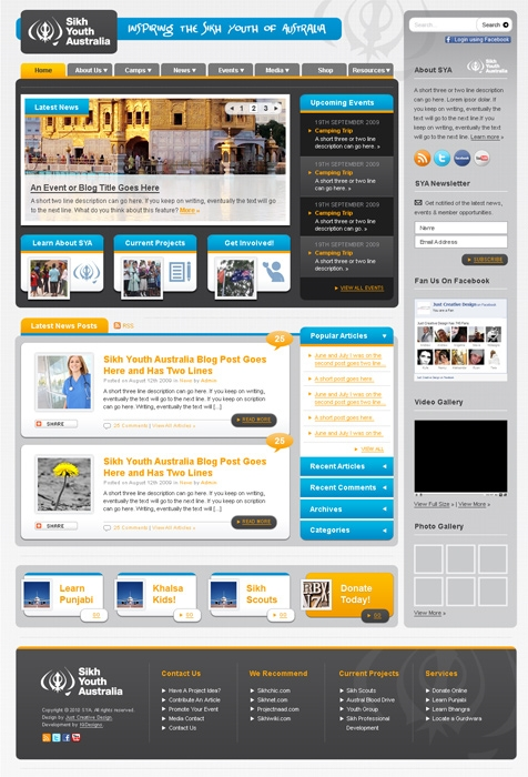 Sikh Youth Website