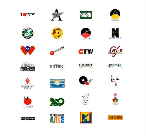 Milton Glaser Logos
