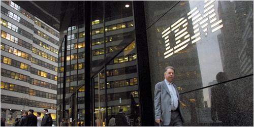 IBM - Photo by Boomberg News