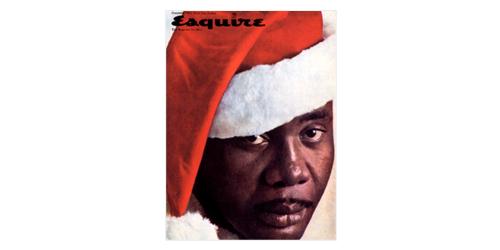 Esquire Santa Cover