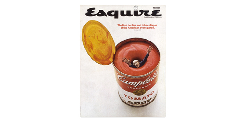 Esquire Tomato Soup Cover