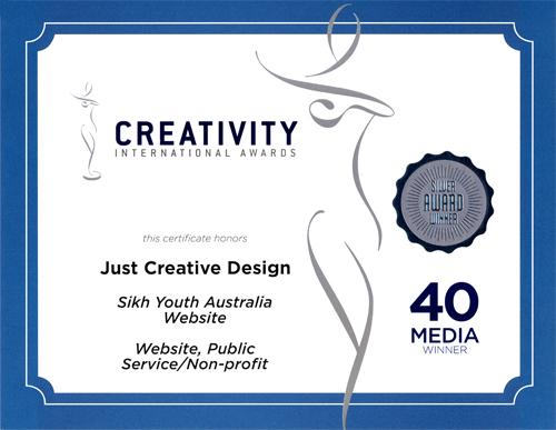 40th Creativity Awards