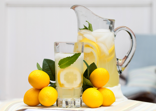 how to make lemonade with reconstituted lemon juice