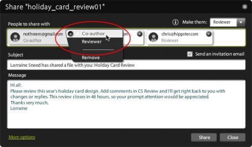 Adobe CS Review Invite