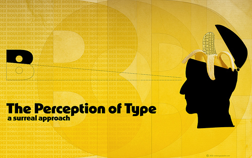 Perception of Type