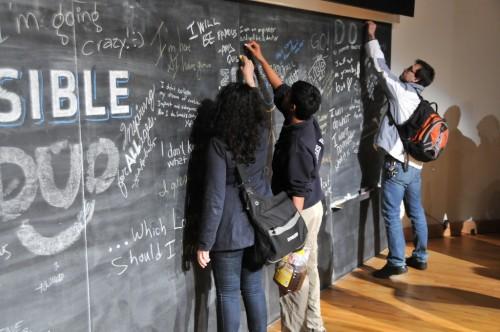 TEDxCMU Board Sign