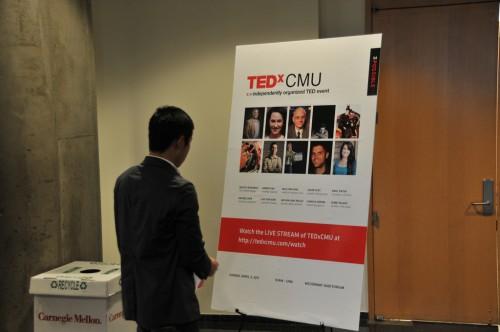 TEDxCMU 2011 Poster