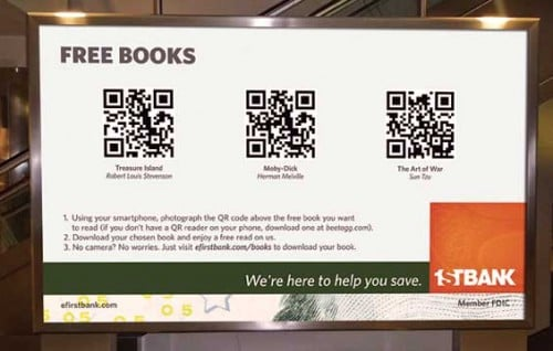 Book Posters QR Code