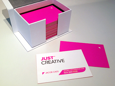 Just Creative Business Card