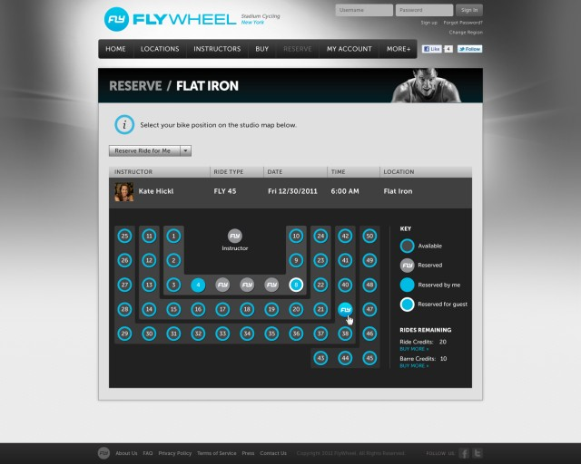 Flywheel Reserve Ride