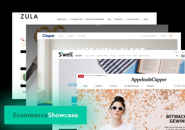 ECommerce Site Designs