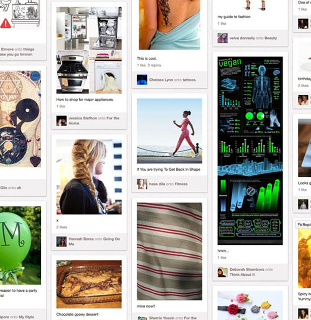 Pinterest是美丽的