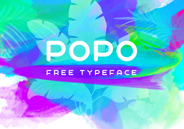 Popo: Nice Round Sans Font