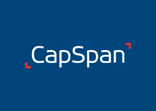 CapSpan Logo Reverse