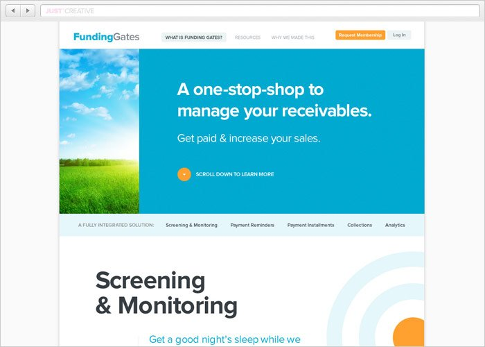 FundingGates Website