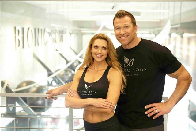 Bionic Body Owners, Kim Lyons and Gunter Schlierkamp
