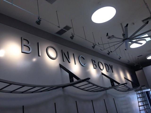 Bionic Body Studio Signage