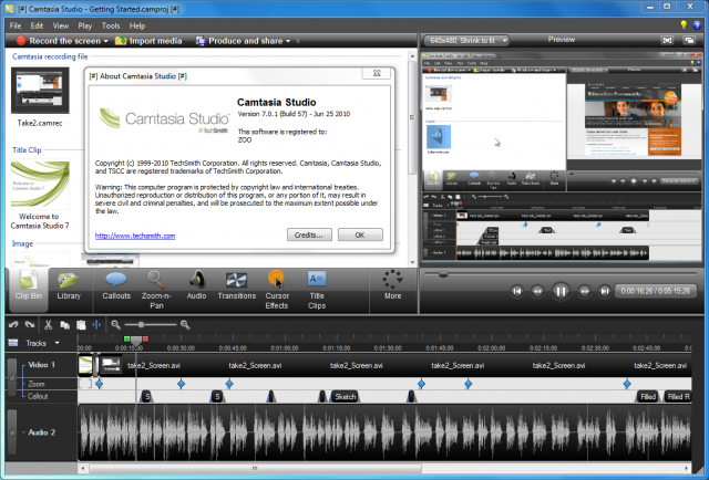 how to change pitch in camtasia