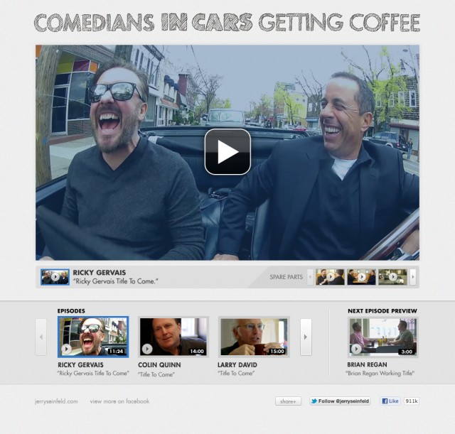Comedians In Cars Getting Website