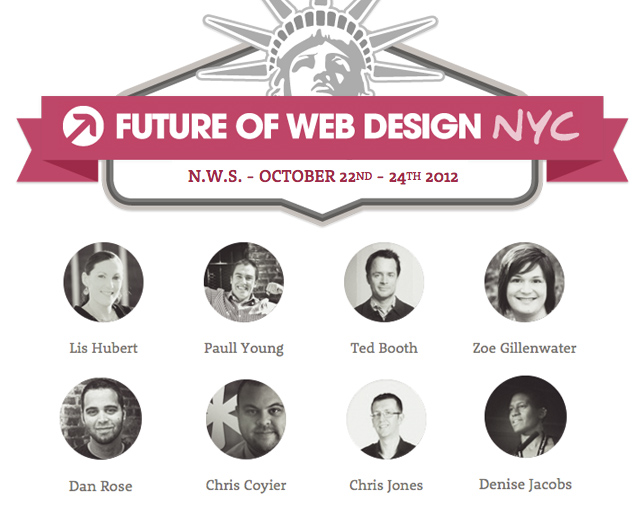 Future of Web Design NYC 2012