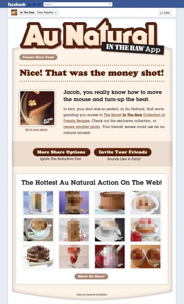 Au Natural Sweet Success - Food Photo Censored