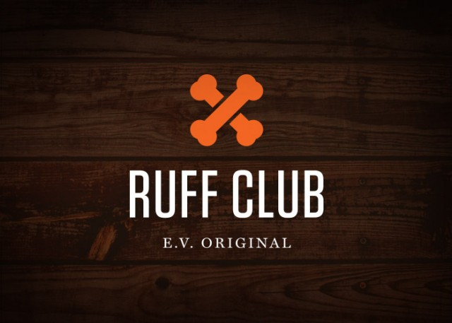 Ruff Club Logo Reversed