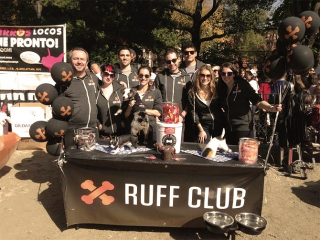 Ruff Club Pre Launch at the NYC Halloween Dog Parade