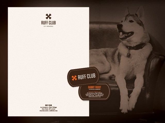 Ruff Club Stationery (Letterhead & Business Card)