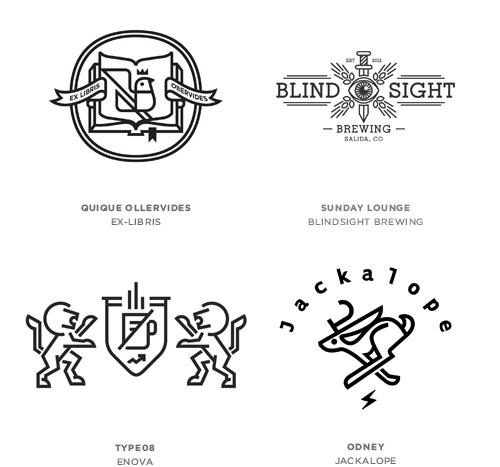 2013 best logo designs trends inspiration showcase just creative