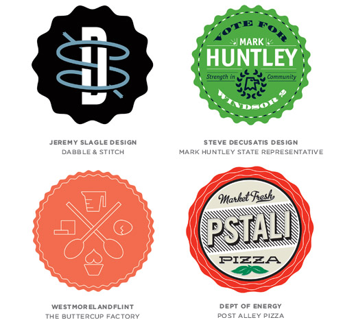 Badges Logo Design Trends & Inspiration