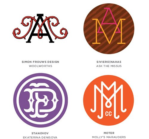 Monograms Logo Design Trends & Inspiration