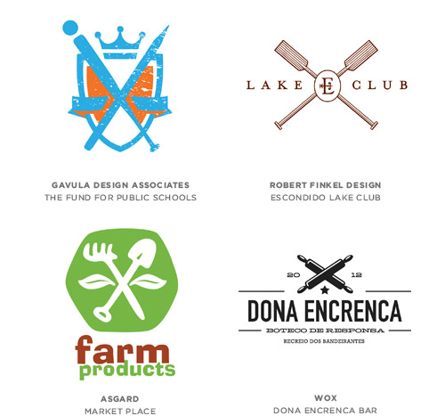 Crossed Logo Design Trends & Inspiration